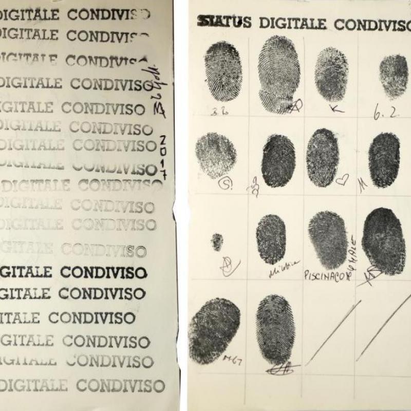 status digitale condiviso carta